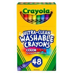 Crayola 48ct UltraClean Crayons Washable   Target