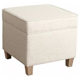 Cole Classics Square Storage Ottoman with Lift Off Top - HomePop   Target