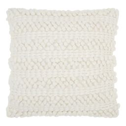 Woven Striped Life Styles Square Throw Pillow - Mina Victory   Target