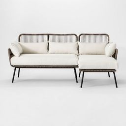 Latigo Patio Sectional Brown/Linen - Opalhouse™ | Target