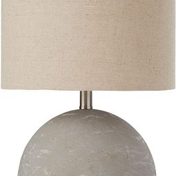 Amazon Brand – Stone & Beam Industrial Round Concrete Table Desk Lamp with Light Bulb and Beige...   Amazon (US)