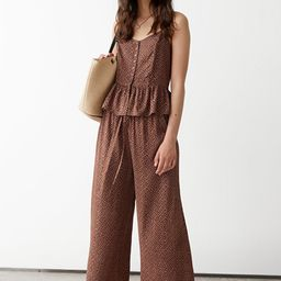 Cropped Relaxed Trousers | & Other Stories