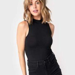 Jennifer Mock Neck Bodysuit | Gibson