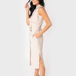 Jennifer Trench Duster Dress | Gibson