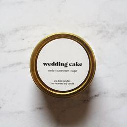 Wedding Cake Candle  Bakery Scented Candle  Small Bridesmaid | Etsy | Etsy (US)