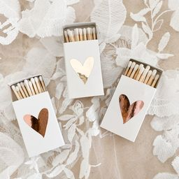 Wedding Matches Heart Matches Cute Matches Silver Gold Rose | Etsy | Etsy (US)