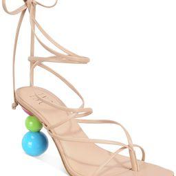 INC International Concepts Lillias Lace-Up Sandals, Created for Macy's & Reviews - Sandals - Shoe... | Macys (US)