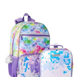 Limited Too Kids Girls' Purple Tie Dye Backpack with Lunch Bag   Walmart (US)