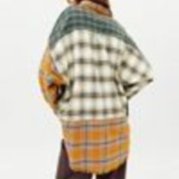 BDG Ted Patchwork Flannel Shirt | Urban Outfitters (US and RoW)