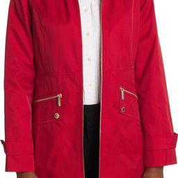 Hooded Zip Front Rain Jacket | Nordstromrack | Nordstrom Rack