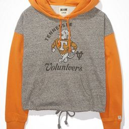 Tailgate Women's Tennessee Vols Colorblock Cropped Hoodie   American Eagle Outfitters (US & CA)