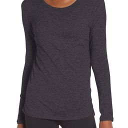 Liana Long Sleeve Recycled Blend Performance T-Shirt | Nordstrom