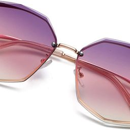 S.NOTIO Sunglasses for Women trendy Polygon Oversized Fashion Designer Style Gradient UV400 octag... | Amazon (US)