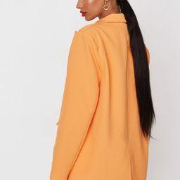 Neon Orange Co Ord Oversized Blazer   Missguided (UK & IE)