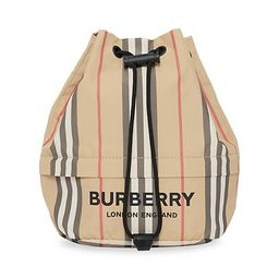 Phoebe Icon Stripe Drawstring Bucket Bag   Saks Fifth Avenue