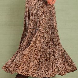 Leopard Pleat Viola Skirt   Tuckernuck (US)