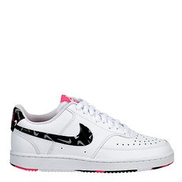 Nike Womens Court Vision Low Sneaker - White   Rack Room Shoes