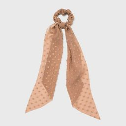 Embroidered Polka Dot Tail Twister - A New Day™   Target