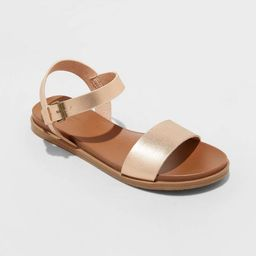 Women's Nyla Ankle Strap Sandals - Universal Thread™   Target