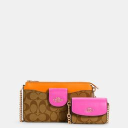 Poppy Crossbody in Colorblock Signature Canvas | Coach Outlet