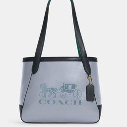 Tote 27 in Colorblock With Horse and Carriage | Coach Outlet