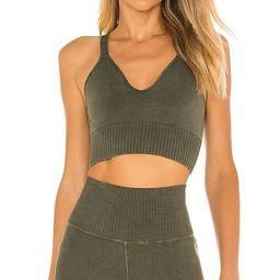 X FP Movement Good Karma Crop Top in Secret Moss | Revolve Clothing (Global)