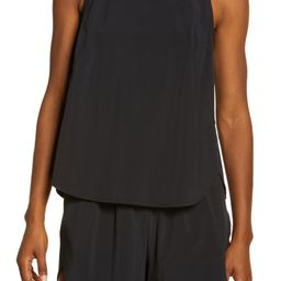 Run In Reflective Stretch Woven Tank | Nordstrom