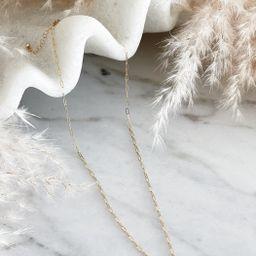 DAINTY MODERN NECKLACE | Stylin by Aylin