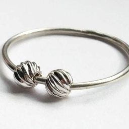 Spiral Fidget Ring, Mental Health and Meditation Ring for Anxiety Relief, Worry Ring for Stress R...   Etsy (CAD)