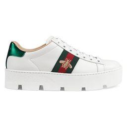 New Ace Platform Bee Sneakers | Saks Fifth Avenue