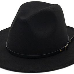 Lisianthus Women Belt Buckle Fedora Hat   Amazon (US)