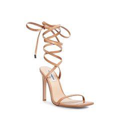Steve Madden Uplift Sandal   Women's   Light Brown   Size 10   Sandals   Lace-Up   Stiletto   DSW
