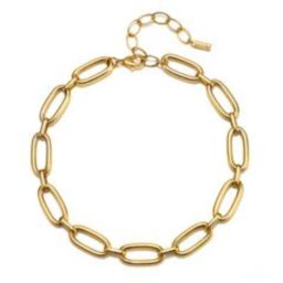 Olivia Chain Choker Necklace | Sequin