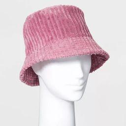 Women's Corduroy Bucket Hat - Wild Fable™ Light Pink   Target