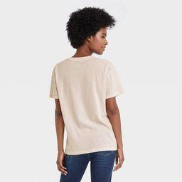 Women's The Rolling Stones Multi Logo Short Sleeve Graphic T-Shirt - Beige | Target