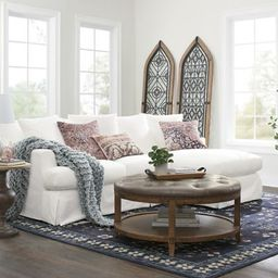 Ava Chaise Slipcovered Sofa | Grandin Road