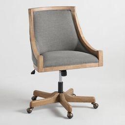 Henry Upholstered Office Chair | World Market