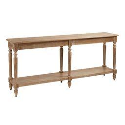 Wood Everett Foyer Table | World Market