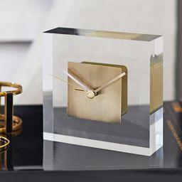 Acrylic Desktop Clock | Pottery Barn (US)