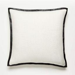 "20"" Tuxedo Pillow | CB2 | CB2"