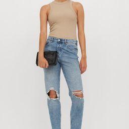 Boyfriend Low Regular Jeans   H&M (US)