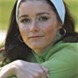 Margot Kidder Posed in Green Sweater with White Headband Photo Print (24 x 30) | Amazon (US)