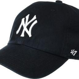 '47 MLB New York Yankees Brand Clean Up Adjustable Cap, One Size, Black   Amazon (US)