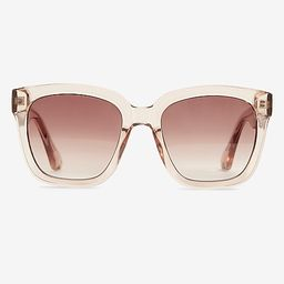 Clear Frame Sunglasses   Express