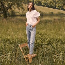 High-rise '90s classic straight jean in Scuttle wash | J.Crew US