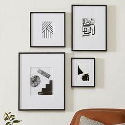 Multi-Mat Gallery Frames - Black | West Elm (US)