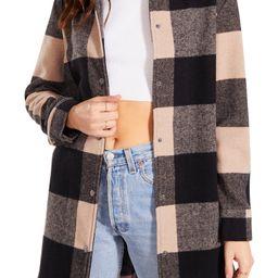 BB Dakota Eldridge Oversize Buffalo Check Shirt Jacket | Nordstrom