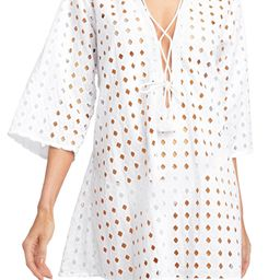 Sarah Cotton Eyelet Cover-Up Tunic   Nordstrom   Nordstrom