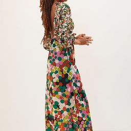 Floral Puff-Sleeved Maxi Dress | Anthropologie (US)