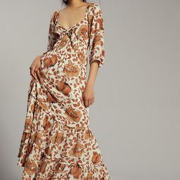Tiered Floral Maxi Dress | Anthropologie (US)